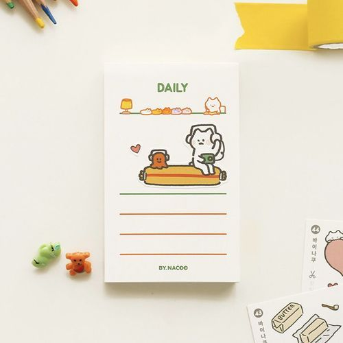 Cat Themed Notepad