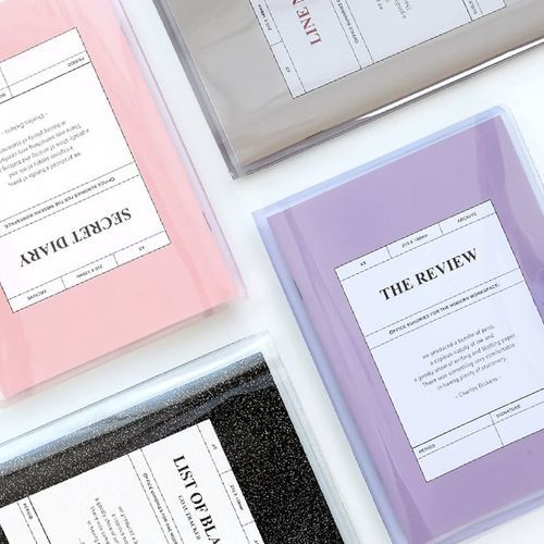 MYO Notebook & Cover Set