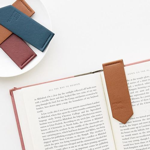MYO Leather Bookmark Set