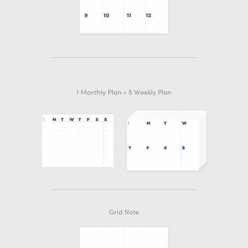 Grid Plan Weekly Journal v2