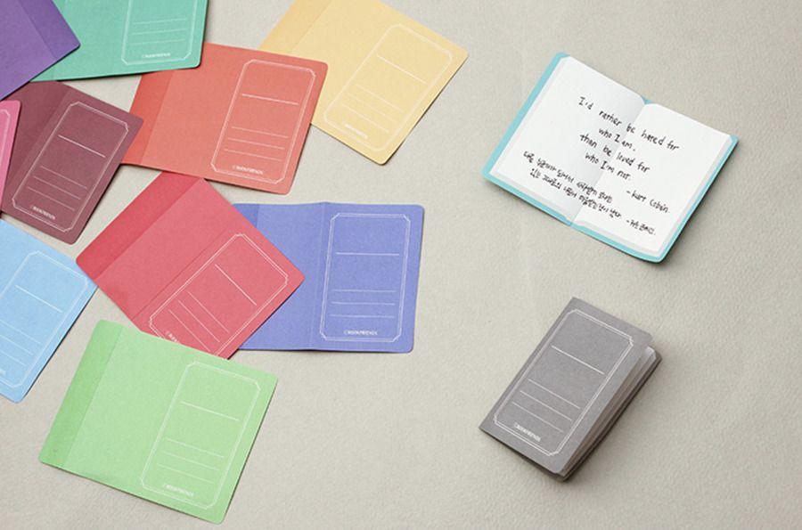 Foldable Book Sticky Note