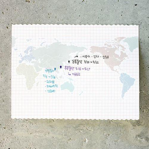 Large Voyage Sticky Note