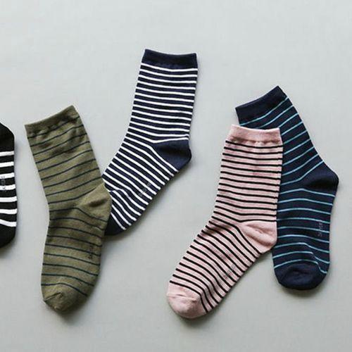 Stripe Pattern Women Socks