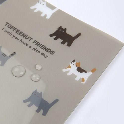 Toffeenut Pocket File Folder