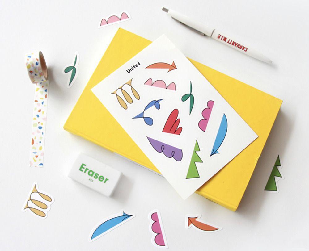 Alphabet Themed Sticker v3