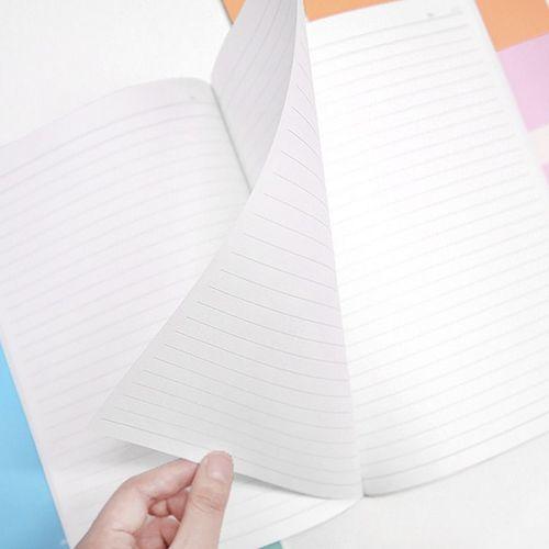 Pastel Simple Lined Notebook (Random)