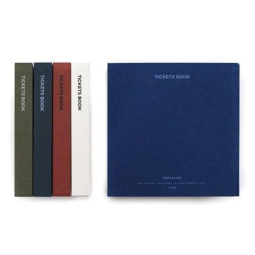 Simple Canvas Ticket Book
