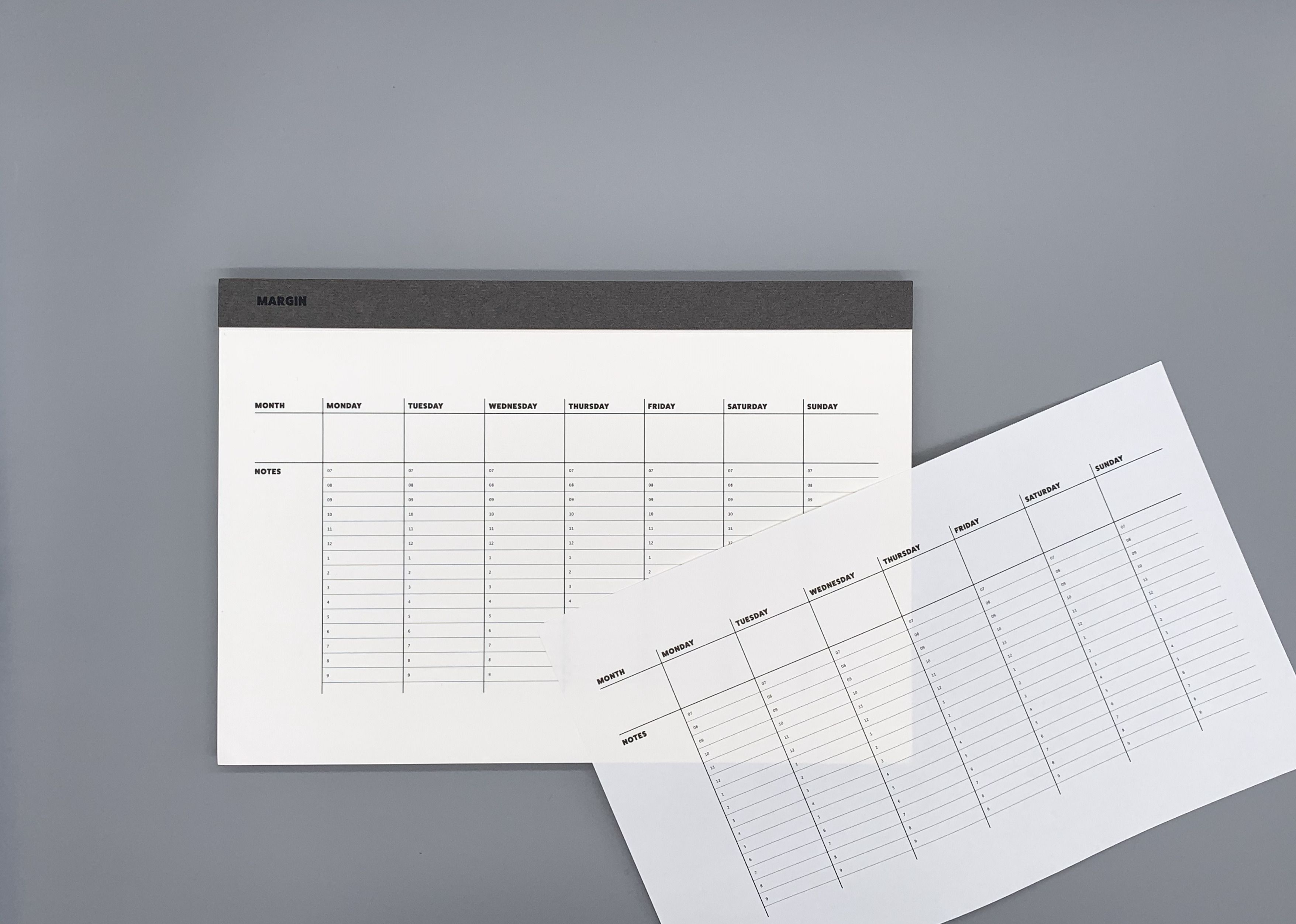 Large Basic Planning Notepad