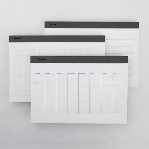 Large Basic Planning Notepad