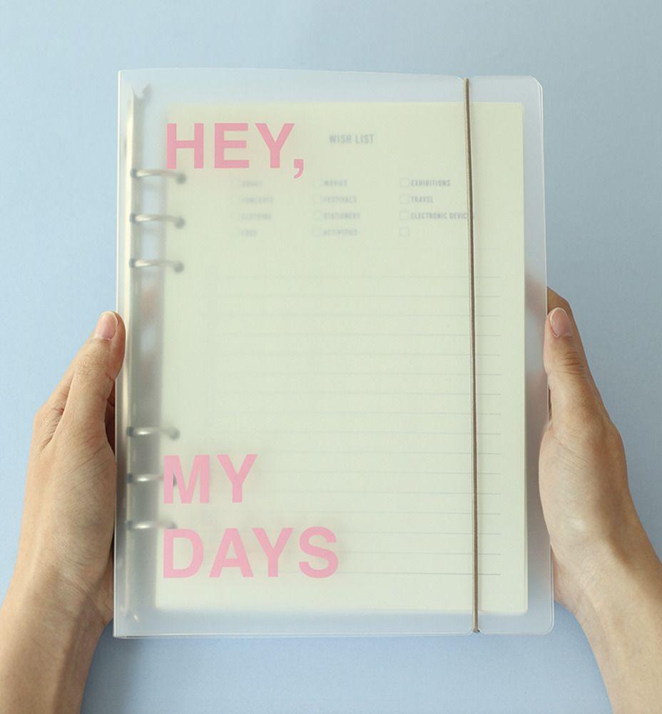 Hey, My Days 6 Ring A5 Binder