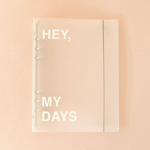 Hey, My Days 6 Ring A5 Binder