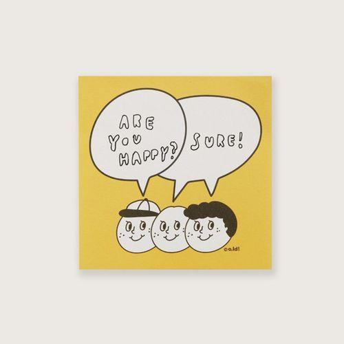 Oh, Mascot Sticky Note