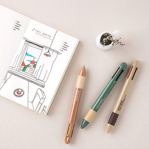 Life & Pieces 4 Color Ball Point Pen