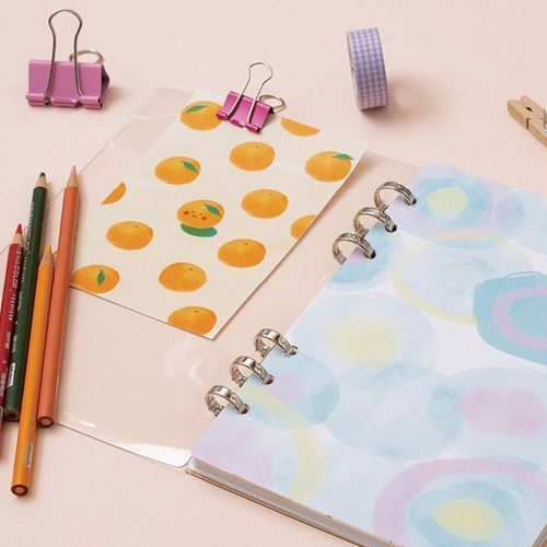 6 Ring A5 Cover Paper Refill