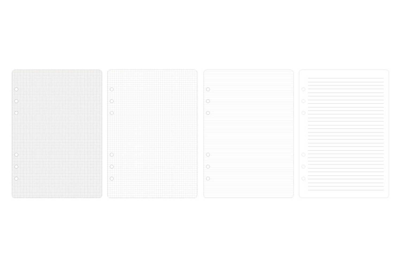 DIY 6 Ring A5 Note Refill