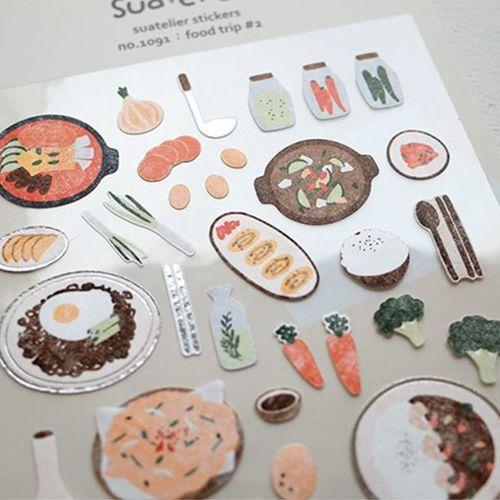 Food Trip #2 Deco Sticker