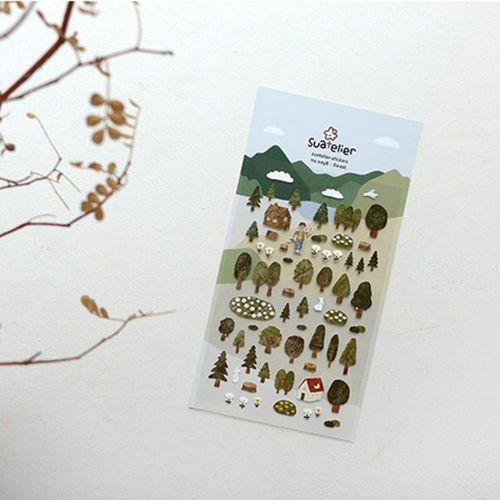 Forest Deco Sticker