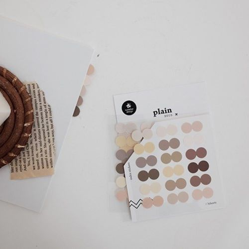 Plain Deco Sticker v41