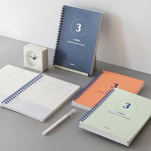 3 Times a Day Study Planner