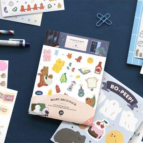 Un Jour De Reve Deco Sticker Set v10