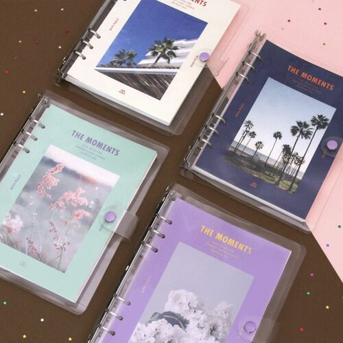 The Moments 6 Ring A5 Planner