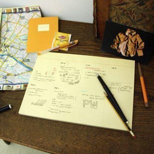 Large Desk Notepad
