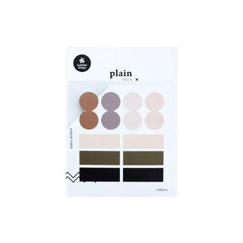 Plain Deco Sticker v43