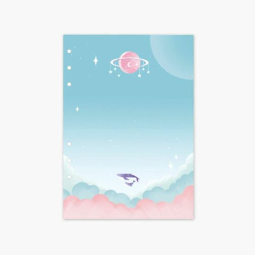 Twinkle 6 Ring A5 Planner Refill