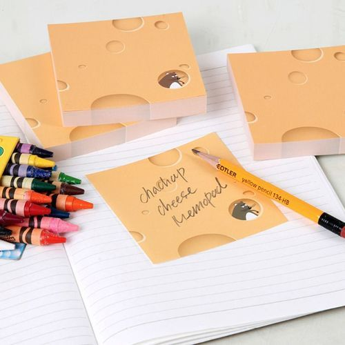 Emmental Cheese Memo Pad