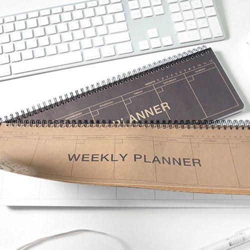 Kraft Desk Weekly Planner