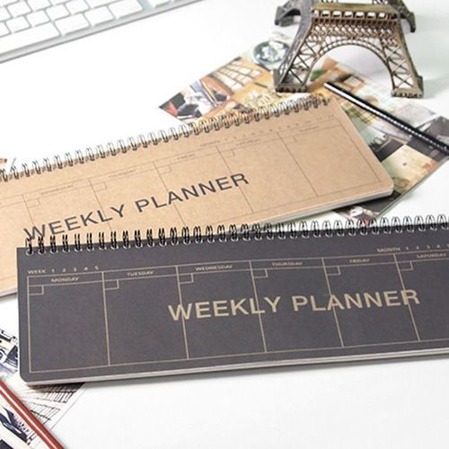 Kraft Desk Weekly Planner