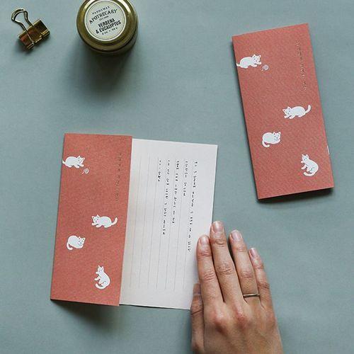 Dailylike Vertical Letter Set