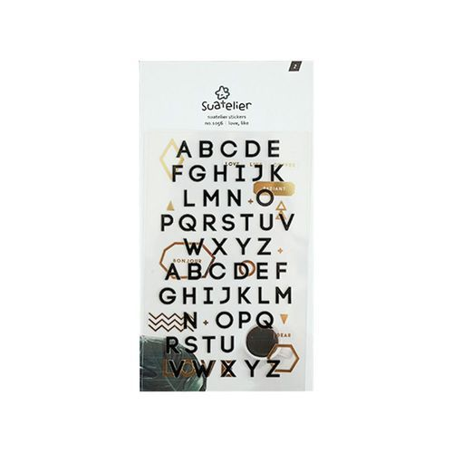 Love, Like Alphabet Sticker