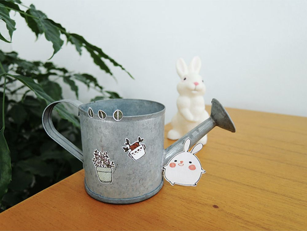 Bonny Bunny Hanji Sticker Set