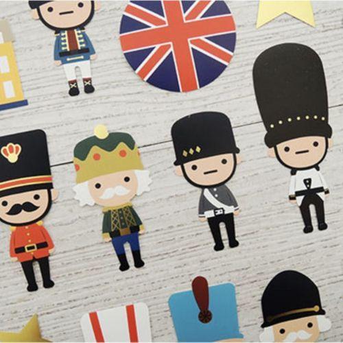 Toy Soldier Luggage Sticker Set