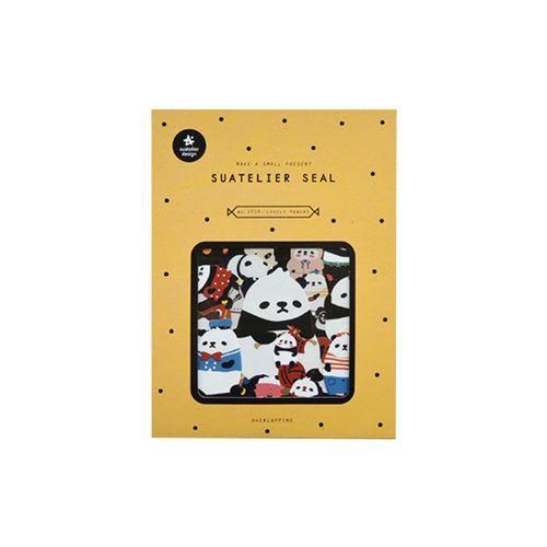 Lovely Panda Deco Sticker Set