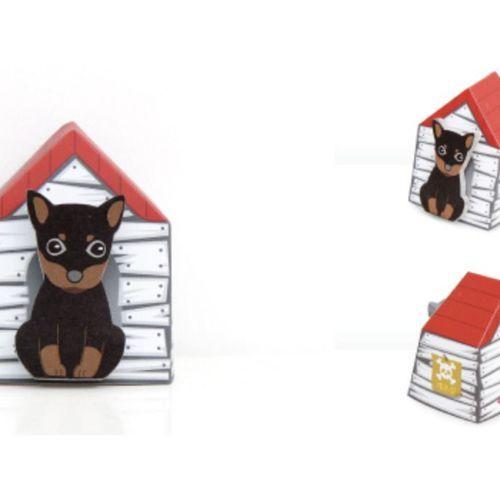 Mini Puppy House Sticky Note