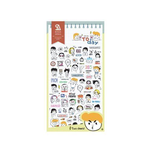 Today Deco Sticker