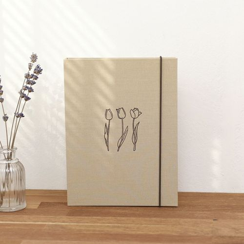 Bookcloth 6 Ring A5 Binder