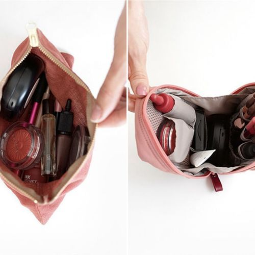 Slim Standing Cosmetic Pouch