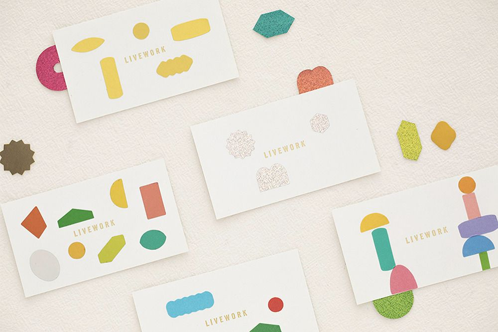 Color Palette Shape Deco Sticker