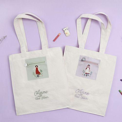 Anne Cotton Shoulder Bag