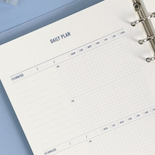 Life 6 Ring A5 Planner Refill