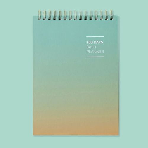 Gradient 100 Days Daily Planner