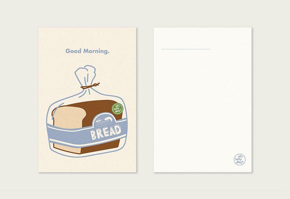 Oh, Mart Series Postcard