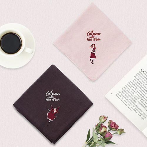 Anne Embroidery Cotton Handkerchief