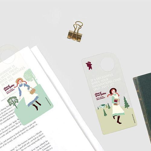 Anne Transparent Bookmark