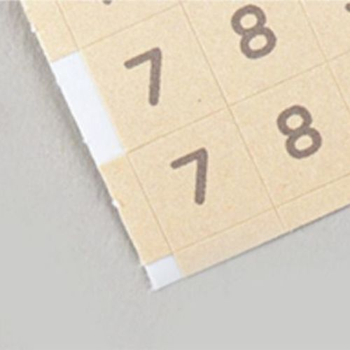 1152pcs Pastel Alphabet Sticker Set