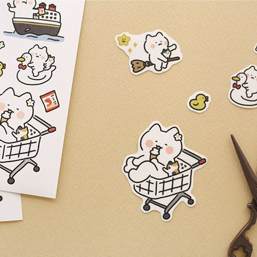 Cat CYO Sticker Set v1