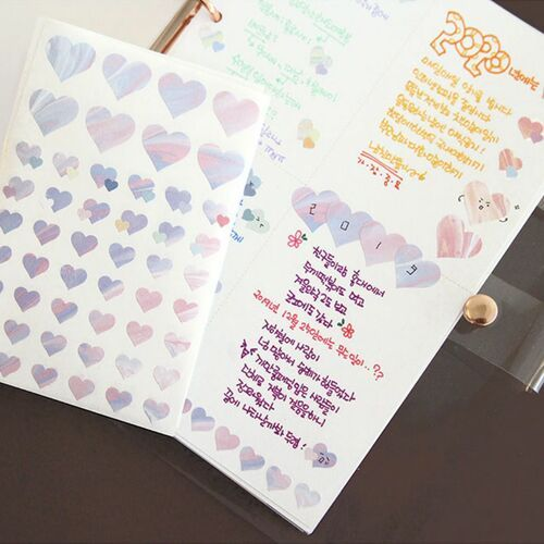 Planning Heart Deco Sticker